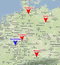 Baumholder Germany Army Base Map