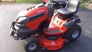 46 U0026quot  Husqvarna Riding Lawn Mower With 21 5 Hp Kawasaki Engine