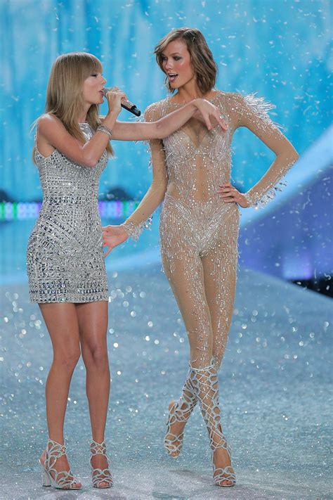 Taylor Swift Borrowed Karlie Klosss Naked Pantsuit For Her Tour