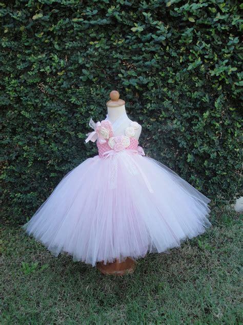 vintage baby wedding dress flower girl tutu dresses