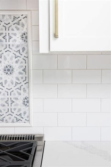 white subway tile  gray grout  favorite grays