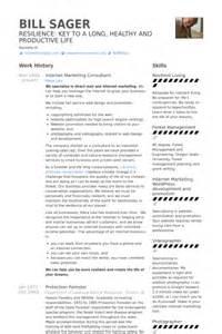 Internet Marketing Consultant Resume Samples Visualcv