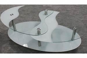 Table Basse Blanche Pas Cher : table basse en verre pas cher table basse blanche et bois maisonjoffrois ~ Teatrodelosmanantiales.com Idées de Décoration