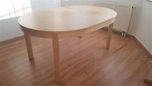 Esstisch Bei Ikea : esstisch rund oval ikea bjursta ausziehbar ebay ~ Orissabook.com Haus und Dekorationen