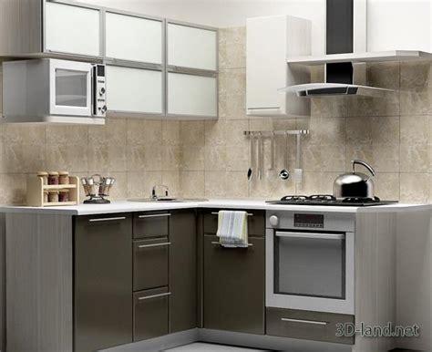 Kitchen Set 3d Model 3dlandnet