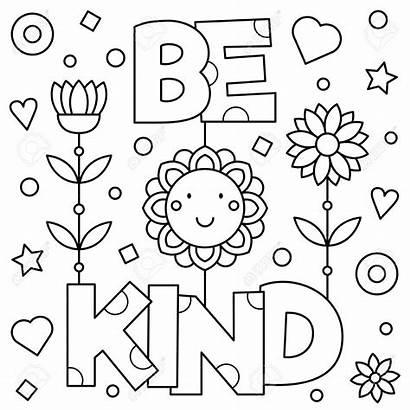 Coloring Pages Kind Mindset Growth Kindness Printable