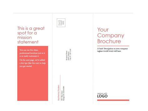 brochure templates ms word