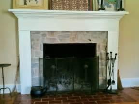 Refacing Fireplace with Stone