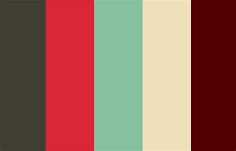 Color Schemes by Retro Vintage Inspired Color Scheme Colors Vintage