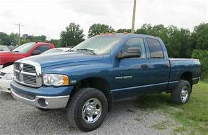 Find Used 2003 Dodge Ram 2500 Quadcab 4x4 Slt  Blue In
