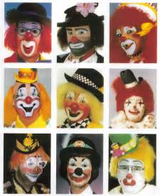 Happy Clown Face Makeup Ideas