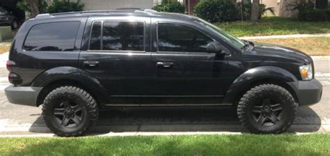 jeep durango blacked out cool thread of the day blacked out 2nd gen dodge durango