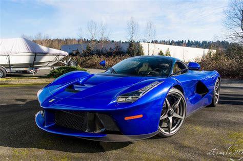 Stunning Blue Ferrari LaFerrari in Washington! - GTspirit