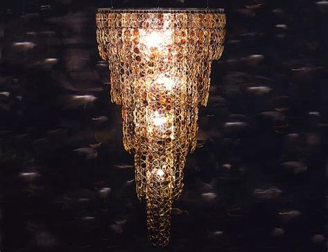 spectacle chandelier made from recycled eye glasses stuart