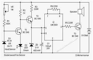 Fire Sensor Circuit