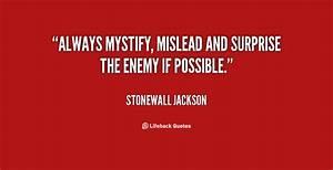 Thomas Stonewal... Stonewall Jackson Brainy Quotes