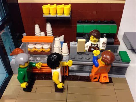 furnish your lego coffee shops! The LEGO Movie Coffee Chain Moc   MBL Designs   Flickr