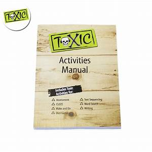 Toxic Series Activity Sheets  Manual