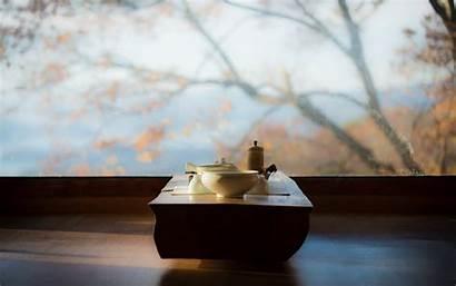 Tea Meditation Wallpapers Table Wonderful Window Interior