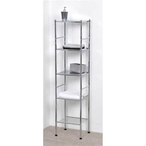 meuble colonne m 233 tal tablettes 233 tag 232 res met achat vente colonne armoire sdb meuble