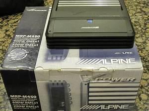 Any Model Alpine V-power Mrp-m450 Amp