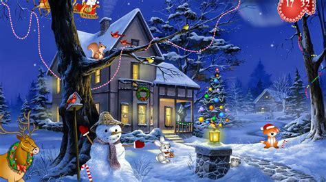 Windows 10 Holiday Screensaver Christmas Fantasy
