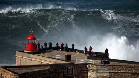 waves surf nazare portugal wave nazare wsl nazarewaves
