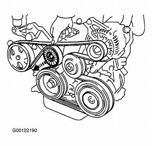 2001 Toyota Corolla Serpentine Belt Routing And Timing