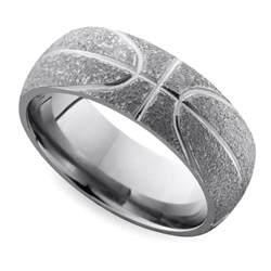 mens wedding ring metals cool 39 s wedding rings for sports fanatics