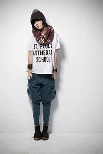 Femme Tomboy Fashion   My fashion   Pinterest   Trousers ...