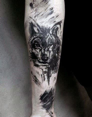 wolf forearm tattoo designs ideas  meaning tattoos