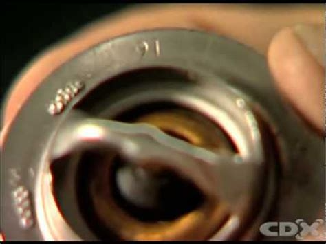 replacing  thermostat supercheap auto youtube