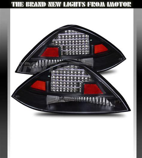 2004 honda accord tail light 2003 2004 2005 honda accord lx ex coupe 2dr led black