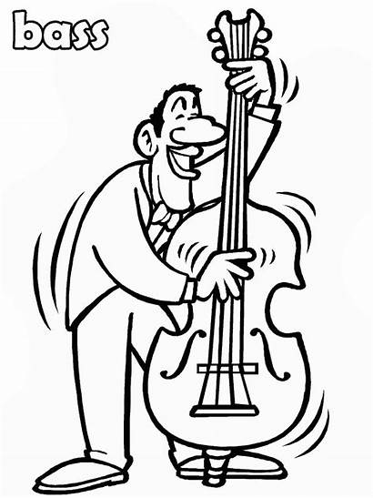 Bass Coloring Pages Advertisement