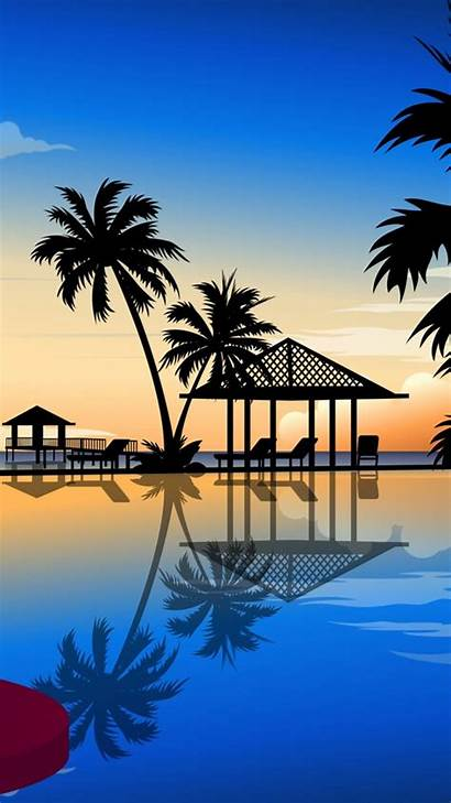 Beach Mobile 720 1280 Resort Backgrounds Phone