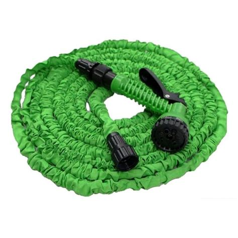 lucien le jardinier tuyau d arrosage extensible 30m vert avec pistolet achat vente tuyau