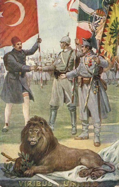 Ottoman Empire History Summary - file centralpowersposter1 jpg wikimedia commons