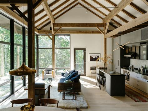 interior hudson valley passive house simple