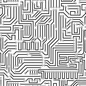 circuit board seamless pattern stock vector c helllbilly With boardfr4electronicprintedcircuitboardspcbaassembly453876html