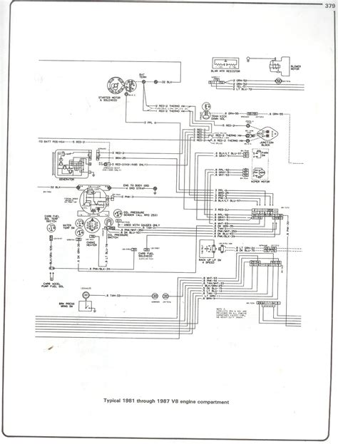 85 Chevy Fuel System Diagram by 85 Chevy Truck Wiring Diagram Http Www 73