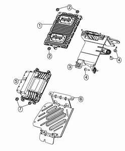 2014 Dodge Dart Bracket  Transmission Control Module