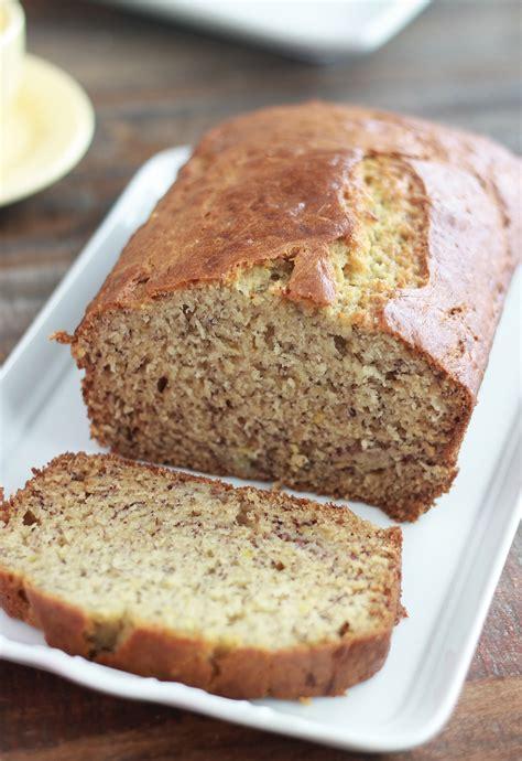 cake  la banane moelleux banana bread americain