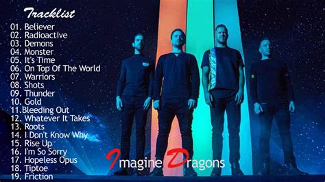 Imagine Dragons Greatest Hits Playlist  Imagine Dragons