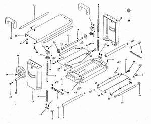 Craftsman 12 1  2 U0026quot  Planer Parts