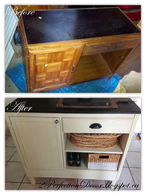 kitchen storage island remodelaholic upcycled vintage desk into kitchen island 3155