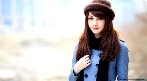 Cute Girl Korean Wallpapers Collection