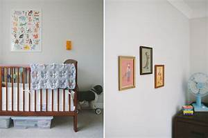 A stylish and modern gender neutral boy and girl nursery