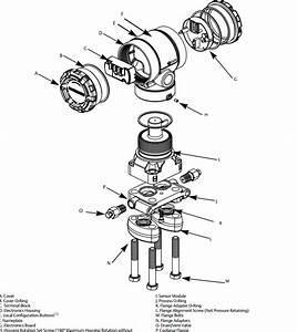 Rosemount 2051 Gage  U0026 Differentail Pressure Transmitter