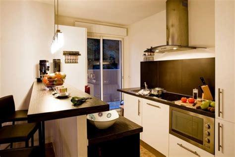plan bar cuisine meuble de rangement dans la cuisine 25 idées