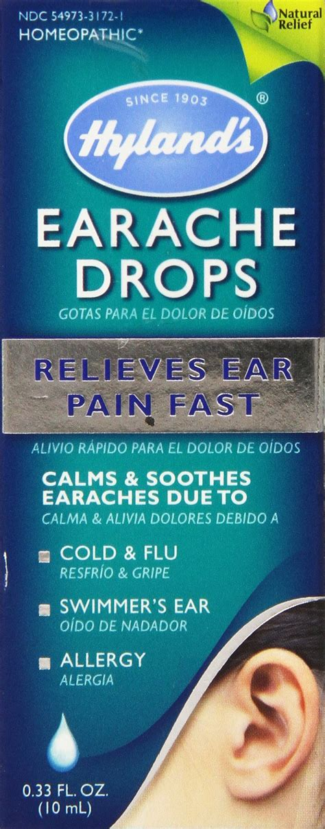 amazon com herb pharm mullein garlic herbal ear drop oil